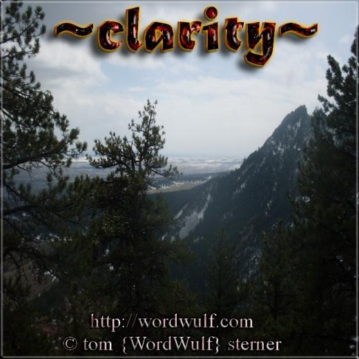 ~clarity~ X