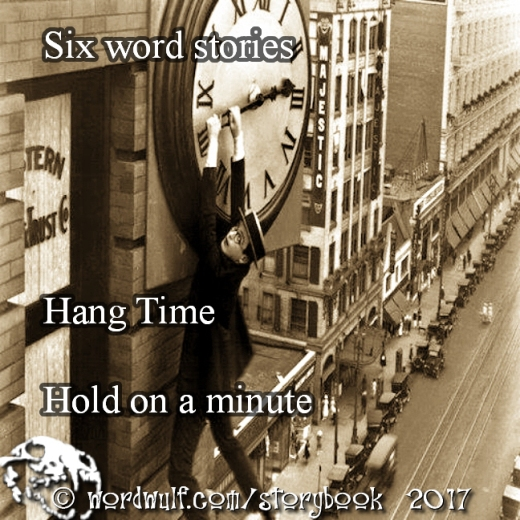 9-25-2017 - Hang Time - Six word stories X