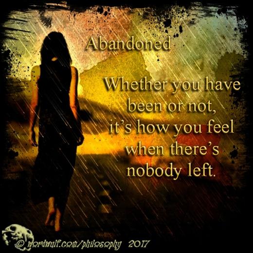 1-5-2018 - Abandoned X